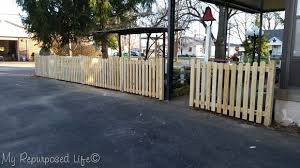 pickets and jig diy picket fence my repurposed life