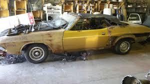dodge challenger project 1971 dodge challenger convertible project car mopar roller