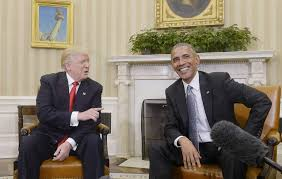 President Obama In The Oval Office Trump Obama Hold Cordial 90 Minute Meeting In Oval Office Sfgate