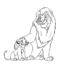 lion king 2 coloring pages free lion king 2 coloring pages