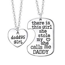 girl necklace pendant images Luvalti daddy 39 s girl heart pendant necklace father jpg