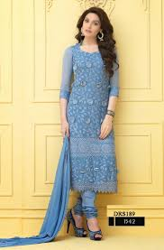 buy online chiffon karachi work dress material helix enterprise