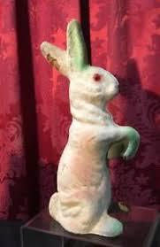 paper mache easter bunny vintage antique estate 9 5 papier mache easter bunny candy