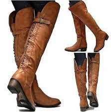 womens knee high boots srh15 studded the knee high boots 7 to