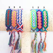 string friendship bracelet images Retail handmade wrap embroidery cotton friendship bracelet woven jpg