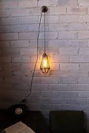 pendant light cord with switch pendant light cord has inline switch and wall plug no electrician