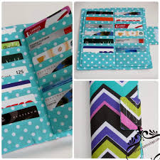 gift card organizer gift card holder or wallet crafthubs