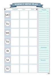 monthly dinner planner template menu planner and editable grocery list printables design your menu planner and editable grocery list printables design your home with style