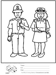 olympic coloring page london bobby police kids activities