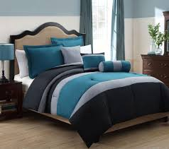 Queen Bedroom Comforter Sets Teal And Black Bedding Sets Spillo Caves