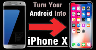 turn android into iphone here s how to turn your android phone into an iphone x tech2fire