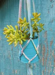 Garden Crafts To Make - an easy to make hanging garden diy it u0027s easy and is general