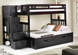 black bunk beds twin over twin home design ideas