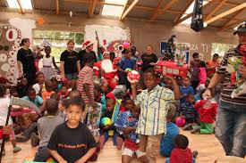 urban ruins hosts a christmas party for children boksburg advertiser