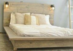 Floating Platform Bed Quilmes Floating Rustic Wood Platform Bedframe By Knotsandbiscuits