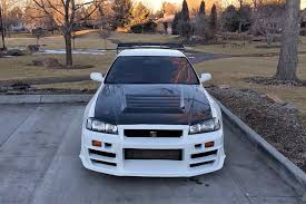 nissan skyline police car police officer proudly owns this once illegal nissan gt r