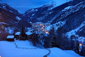 Winter House Alpes Alpen Alps Switzerland Switzerland Mountain Hills Winter
