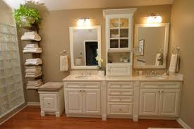 Glass Block Bathroom Ideas by Extensive Bathroom Small Wood Storage Cabinets With Doors Aside