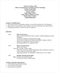 Professional Interests Resume Microbiologist Resume Template 5 Free Word Pdf Document