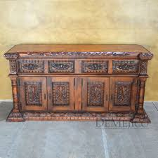Wooden Buffet Table by Rustic Buffet Tables Rustic Dining Set Mexican Furniture