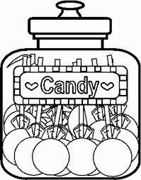 candy jar coloring coloring coloring