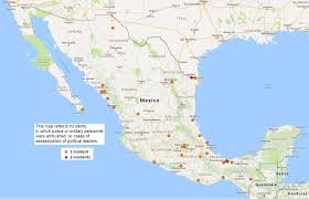 Nuevo Leon Mexico Map by Security Exchange 24