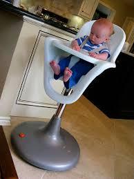 Pedestal High Chair Boon Pencil Shavings