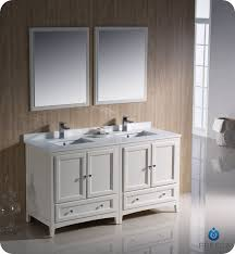 60 Inch Bathroom Vanity Double Sink by Fresca Oxford 60