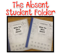 time 4 kindergarten bright ideas absent student folders