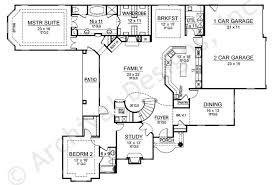 home plans with inlaw suites oak park house plan suite floor house plans 38056
