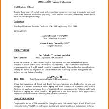 social worker resume template frightening exle social workesume awesome worker sle