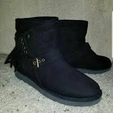 ugg shoes australia brown boots poshmark ugg shoes australia karisa toe suede boot poshmark