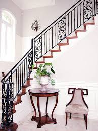 Wrought Iron Railings Interior Stairs Wood And Wrought Iron Railing Houzz