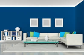 living room small living room with blue colour scheme also