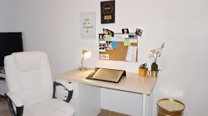 bureau de travail diy deco bureau relooking de mon espace de travail pas cher