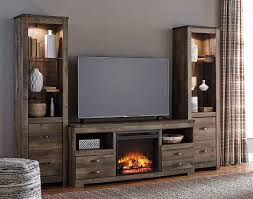 Electric Inserts For Existing Fireplaces Entertainment Centers With Fireplace Visionexchange Co