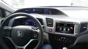 Favorito Central Multimídia Honda Civic 2012 2013 2014 - CINZA- Com DVD GPS  #JP71