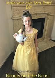 Potts Halloween Costume Beauty Beast Diy Potts