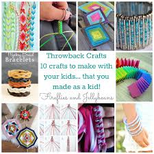 fireflies and jellybeans throwback crafts to make with your kids