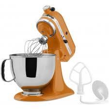 Kitchenaid Orange Toaster Kitchenaid Tangerine Orange Artisan Stand Mixer