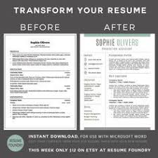 simple creative resumes creative resume template for word us letter and a4 1 u0026 2 page cv