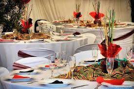 traditional wedding decor