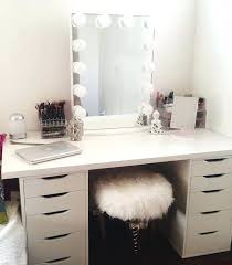 makeup vanity table without mirror desk annapolis cherry wood makeup vanity desk set with bench