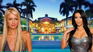 kim kardashian house vs paris hilton house amazing celebrity