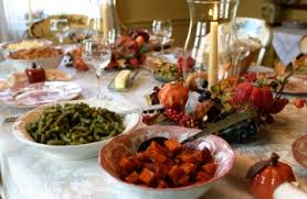 formal table vs buffet pointers to your thanksgiving
