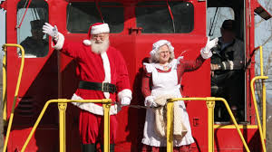 southern us santa trains and christmas trains north pole trains