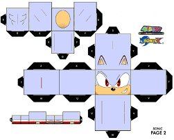 Sonic The Hedgehog Papercraft - 16 best photos of sonic the hedgehog papercraft sonic the