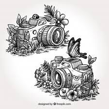 camera sketch vectors photos and psd files free download