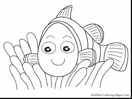 surprising finding nemo pearl coloring page with nemo coloring