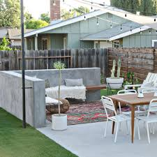 modern california backyard remodel the vintage rug shop the